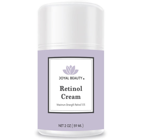 Organic Retinol Cream for Face and Eyes. Unique Stabilized Retinol 1.0. Best Night Cream for All Skin Types.