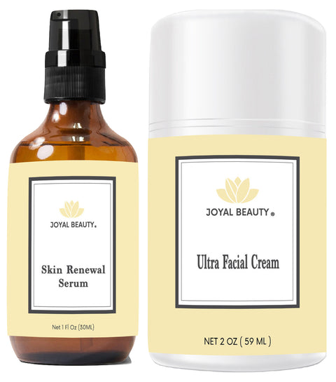 Skin Renewal Duo (Royal Jelly Serum + Royal Jelly Cream)