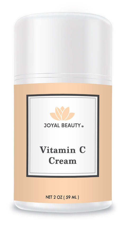 Organic Vitamin C Cream for Your Face Skin Body Eyes. Best Day and Night Natural Bright Ultra Hydration Moisturizer to Nourish and Soften Dry Skin.