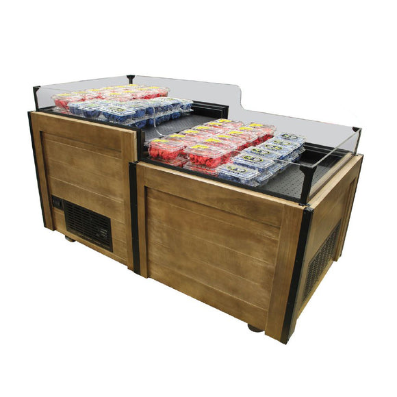 3X6 2 Pod Refrigerated Orchard Bin