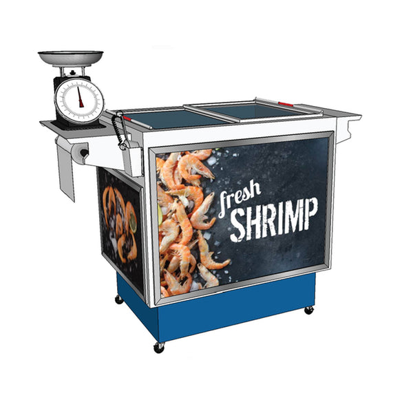 Self-Serve Seafood Station