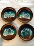 Custom Wave Coasters