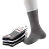 High quality brand business cotton socks for men white casual socks 6pairs/lot
