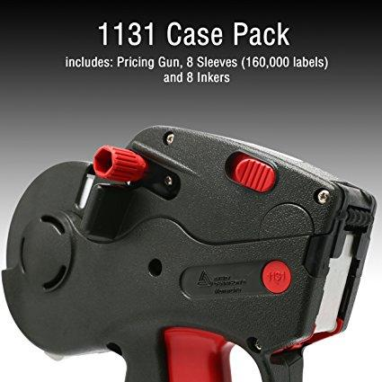 Monarch 1131 Pricing Gun With Labels Value Pack: Includes Monarch 1131 Price Gun, 160,000 White Pricemarking Labels, 8 Bonus Inkers
