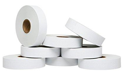 White Pricing Labels for Monarch 1136 Price Gun – 8 Rolls, 14,000 Pricemarking Labels – With Bonus Ink Roll Included