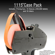 Monarch 1115 Price Gun With Labels Starter Kit: Includes Price Gun, 6,000 Fluorescent Red Pricing Labels and Inker