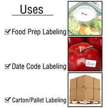 Perco Date Gun Labeler with Labels Date Coding Kit: Includes 8 Digits Gun Labeler, 10,000 White Labels, Label Remover, Bonus Ink Roll