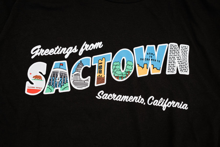 Limited Edition TPOS Greetings From Sactown Long Sleeve