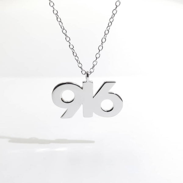 SILVER TPOS 916 Necklace