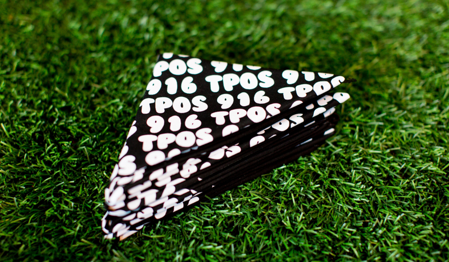 TPOS / 916 Bandana Black / White