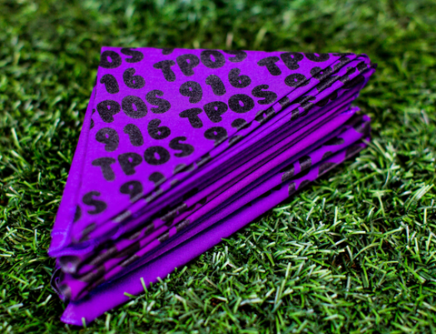 TPOS / 916 Bandana Purple / Black