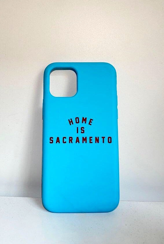 IPHONE: Home is Sacramento Phone Case (Vintage Blue/Red)