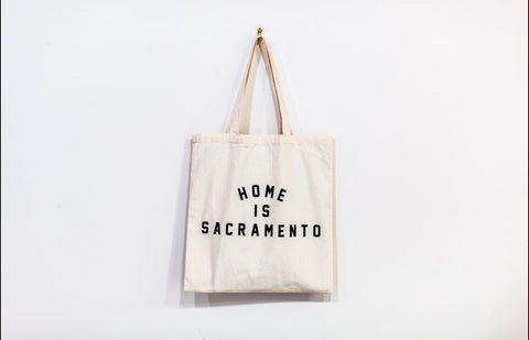 Home is Sacramento Tote