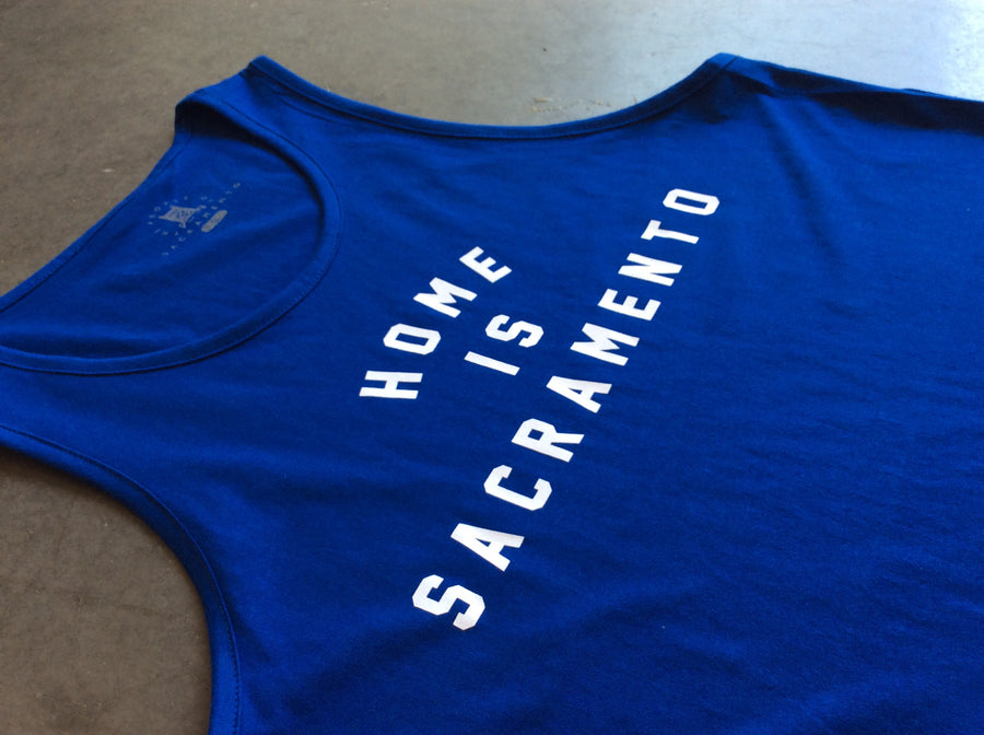 Home is Sacramento Men's Tank
