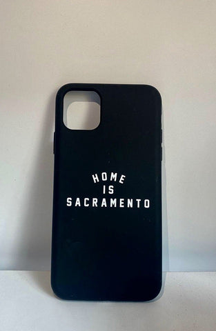 IPHONE: Home Is Sacramento Phone Case (Black/White)