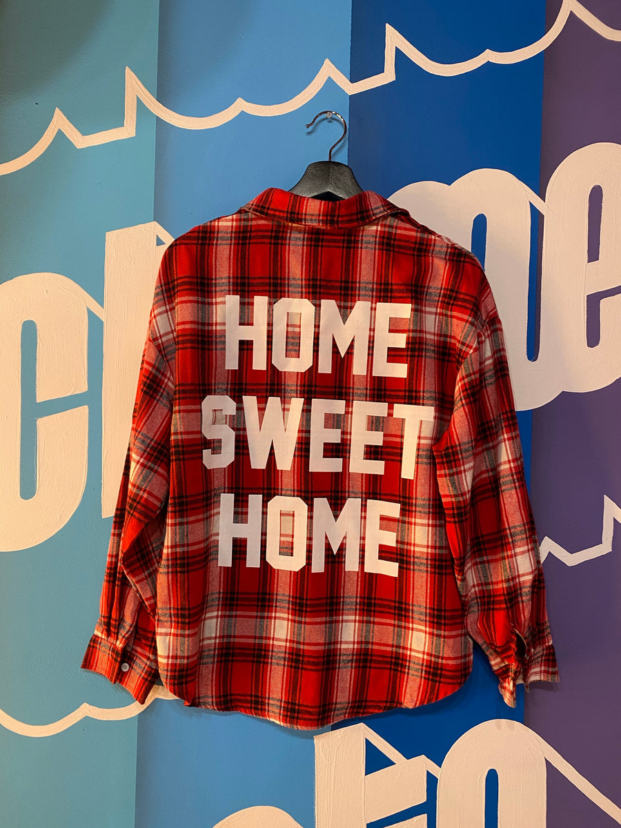 TPOS 916 / Home Sweet Home Flannel Unisex