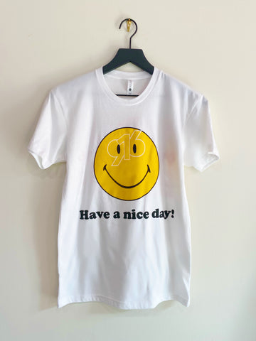 LIMITED EDITION 916 DAY HAVE A NICE DAY TEE (White)