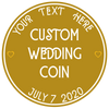 Custom Wedding Coin