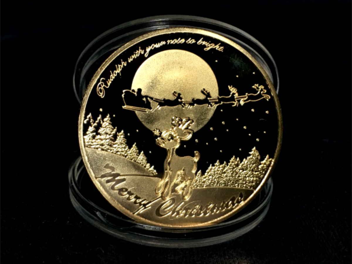 Santa Claus Wishing Coin