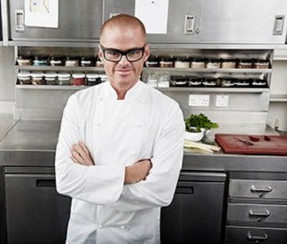Heston Blumenthal at Salter