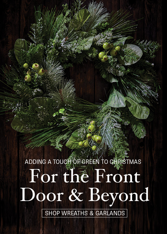 Christmas Wreathes and Garlands from Minimax