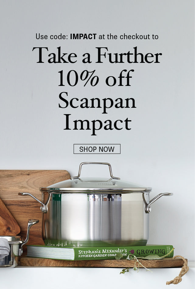 Save 10% on Scanpan Impact from Minimax