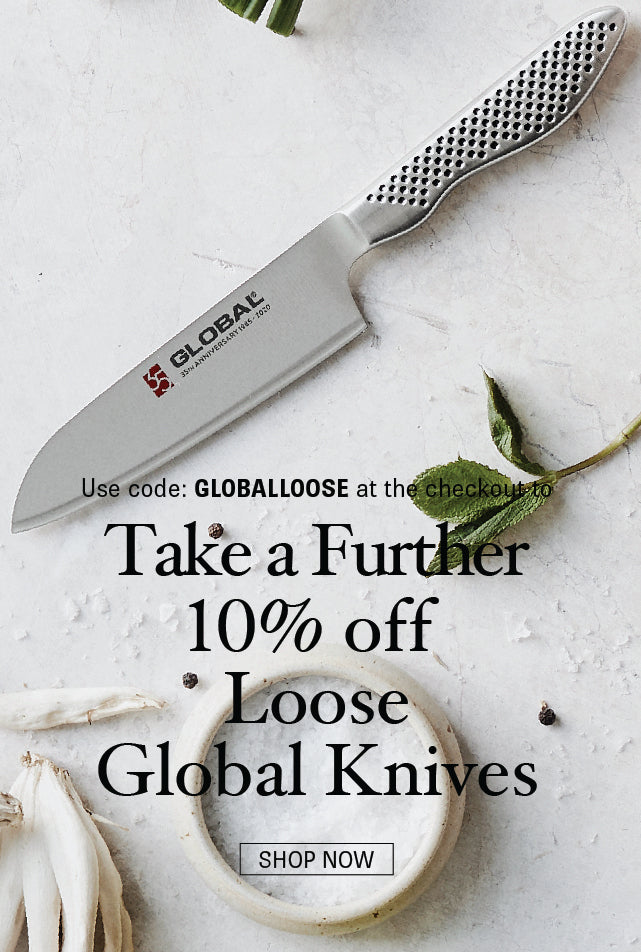 Save 10% on Global Knives from Minimax