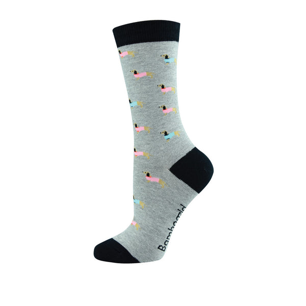 Sausage Dog Womens Socks