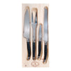 Laguiole Black Kitchen Set - 4 Piece