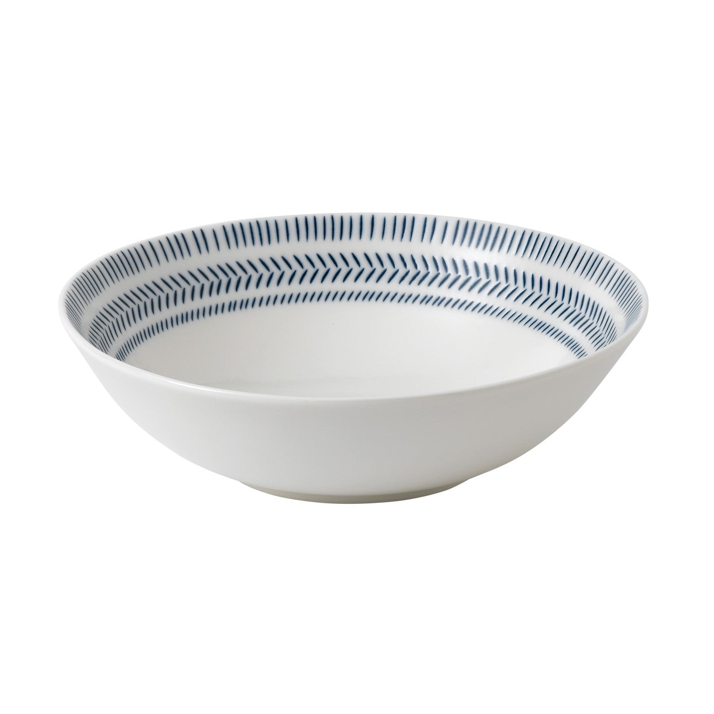 ED by Ellen DeGeneres Chevron Blue Bowl 20cm