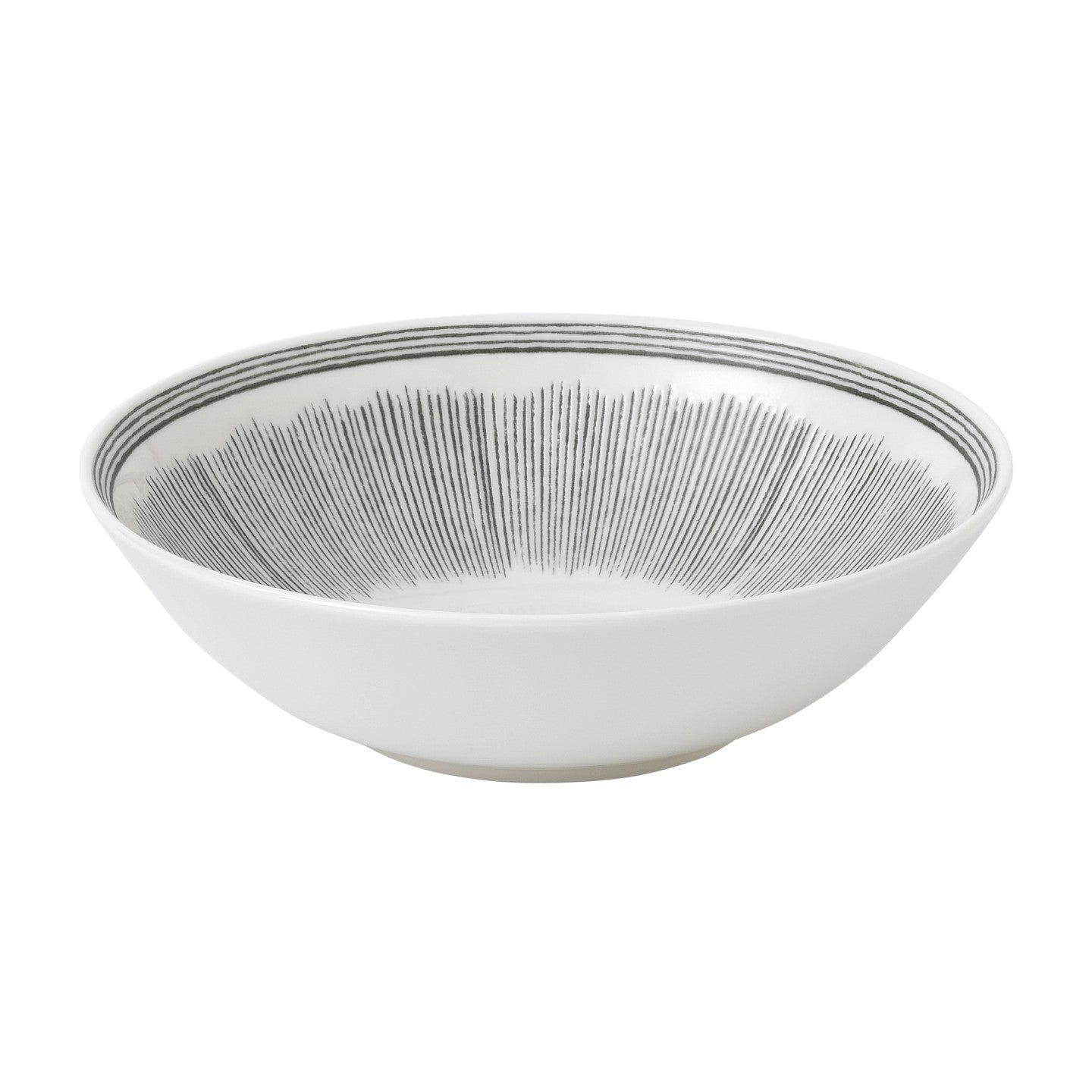 ED by Ellen DeGeneres Lines Grey Bowl 20cm