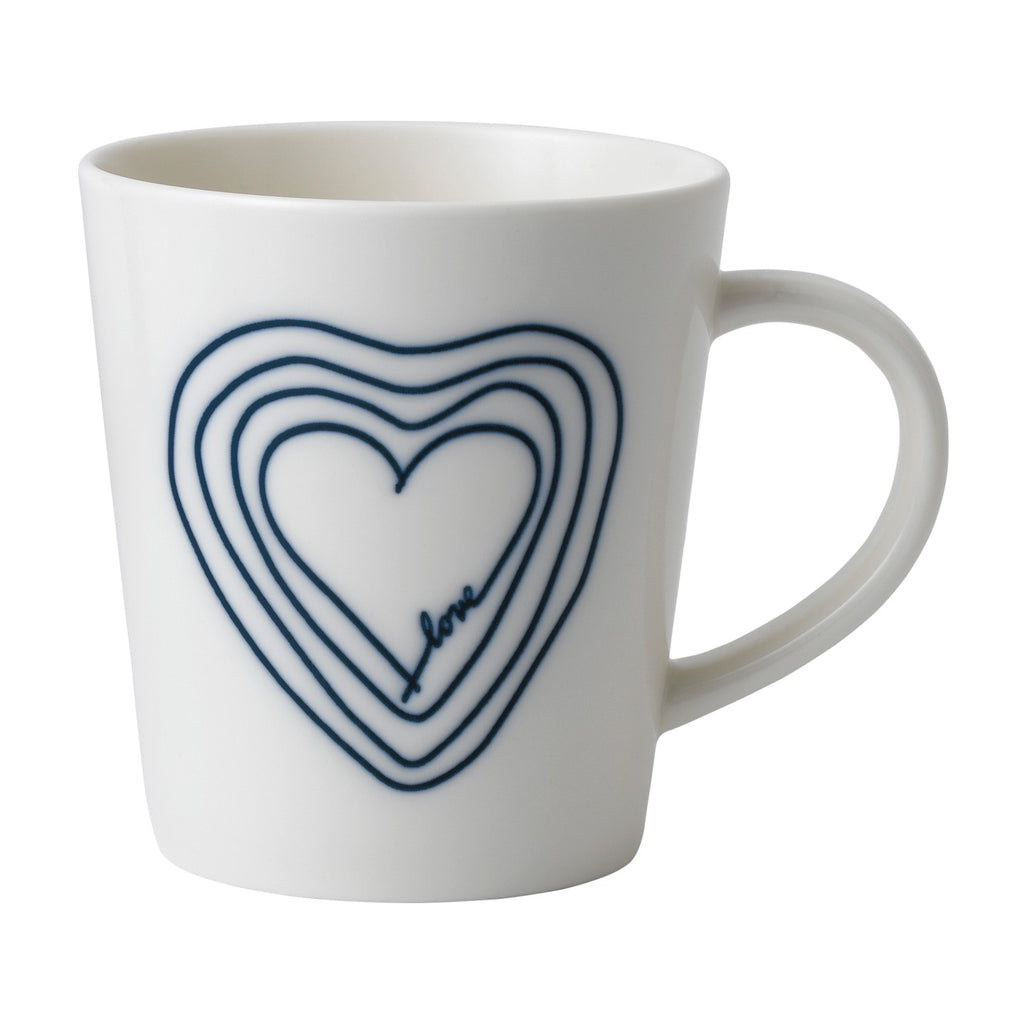 ED by Ellen DeGeneres Blue Heart Mug