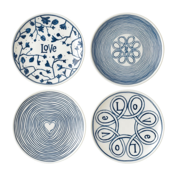ED by Ellen DeGeneres Signature Plates 16cm Set of 4
