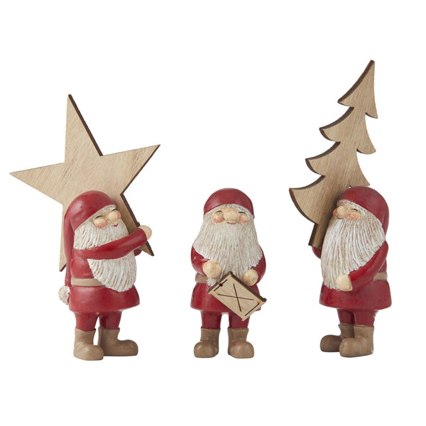 Busy Santa Decoration Assorted