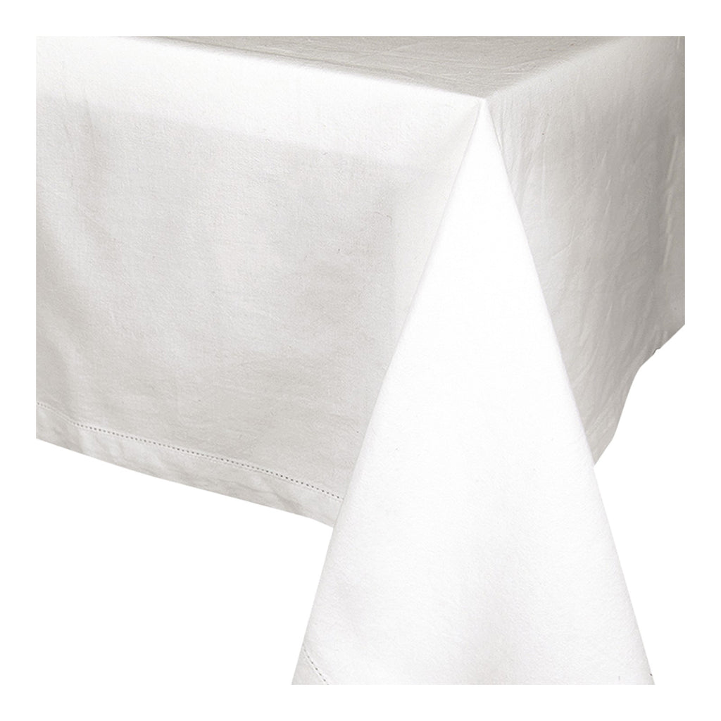 Jetty White Tablecloth 150x230