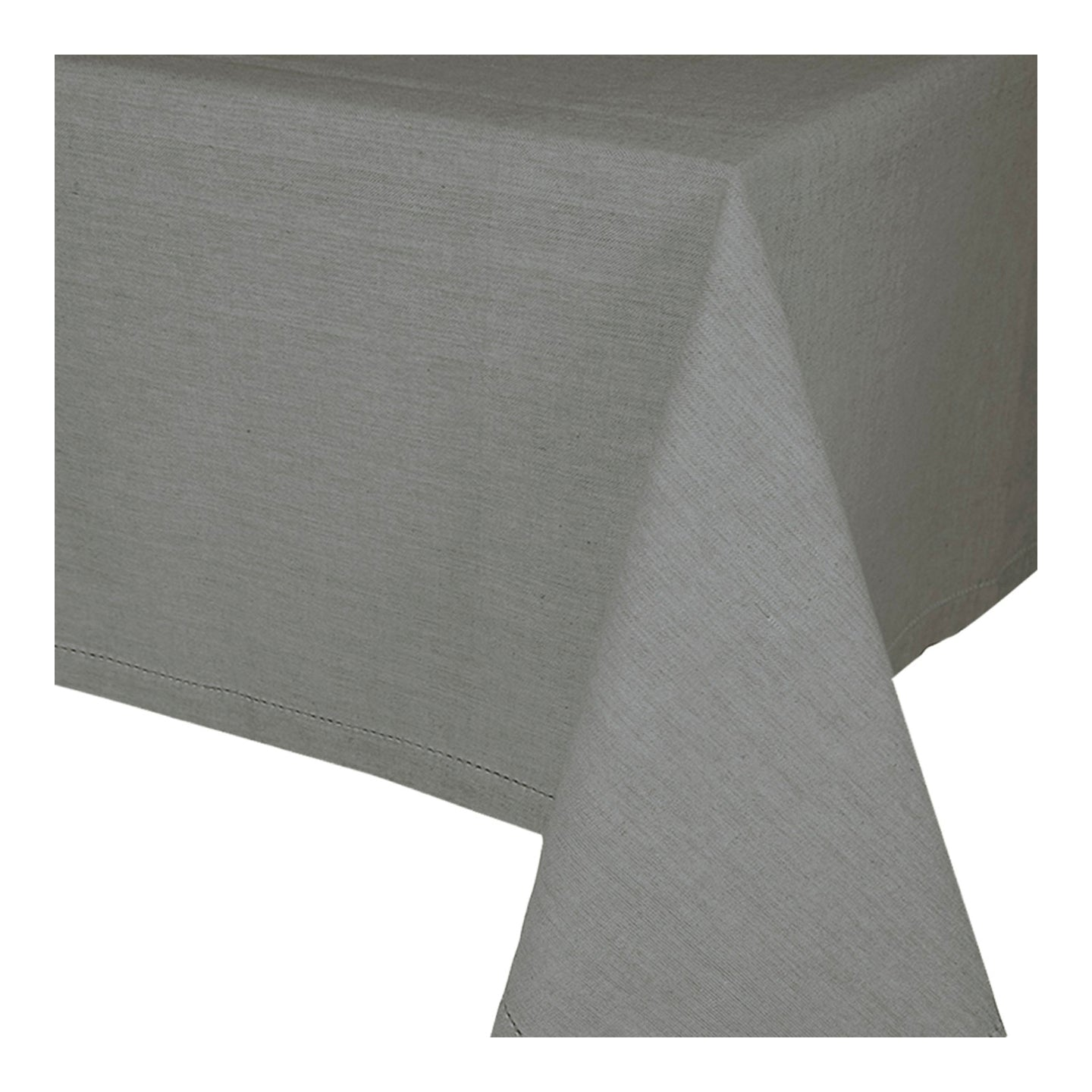 Jetty Charcoal Tablecloth 150x230