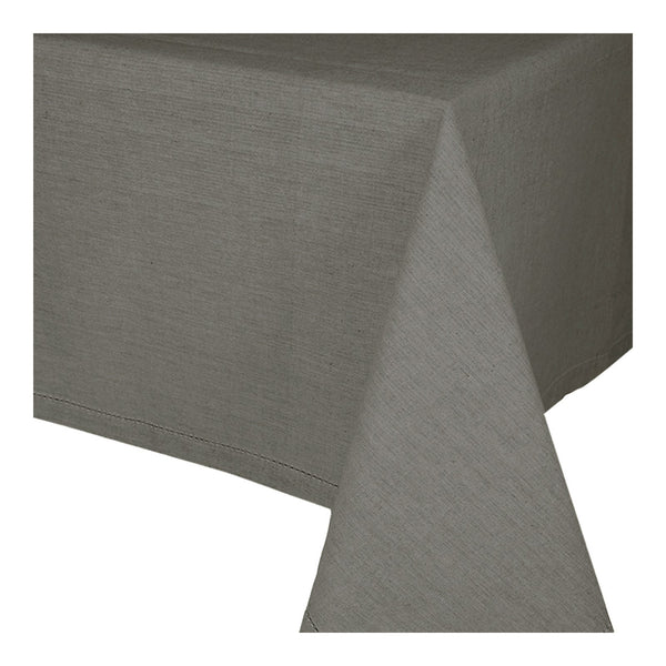 Jetty Charcoal Tablecloth 180x280