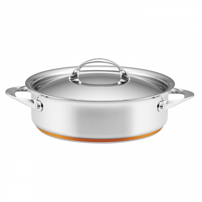 Per Vita 26cm Covered Sauteuse