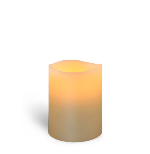 "2"" x 2.5"" Ivory 1 Led Wax Votive"