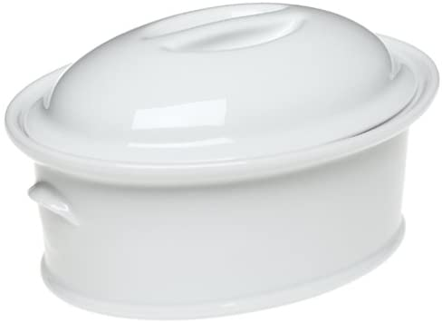 900ml Oval Casserole with Lid - Minimax