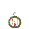 Tin Wreath Joyeux Noel