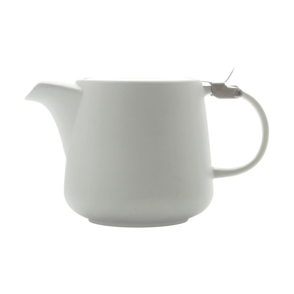 Tint Teapot White 600ml