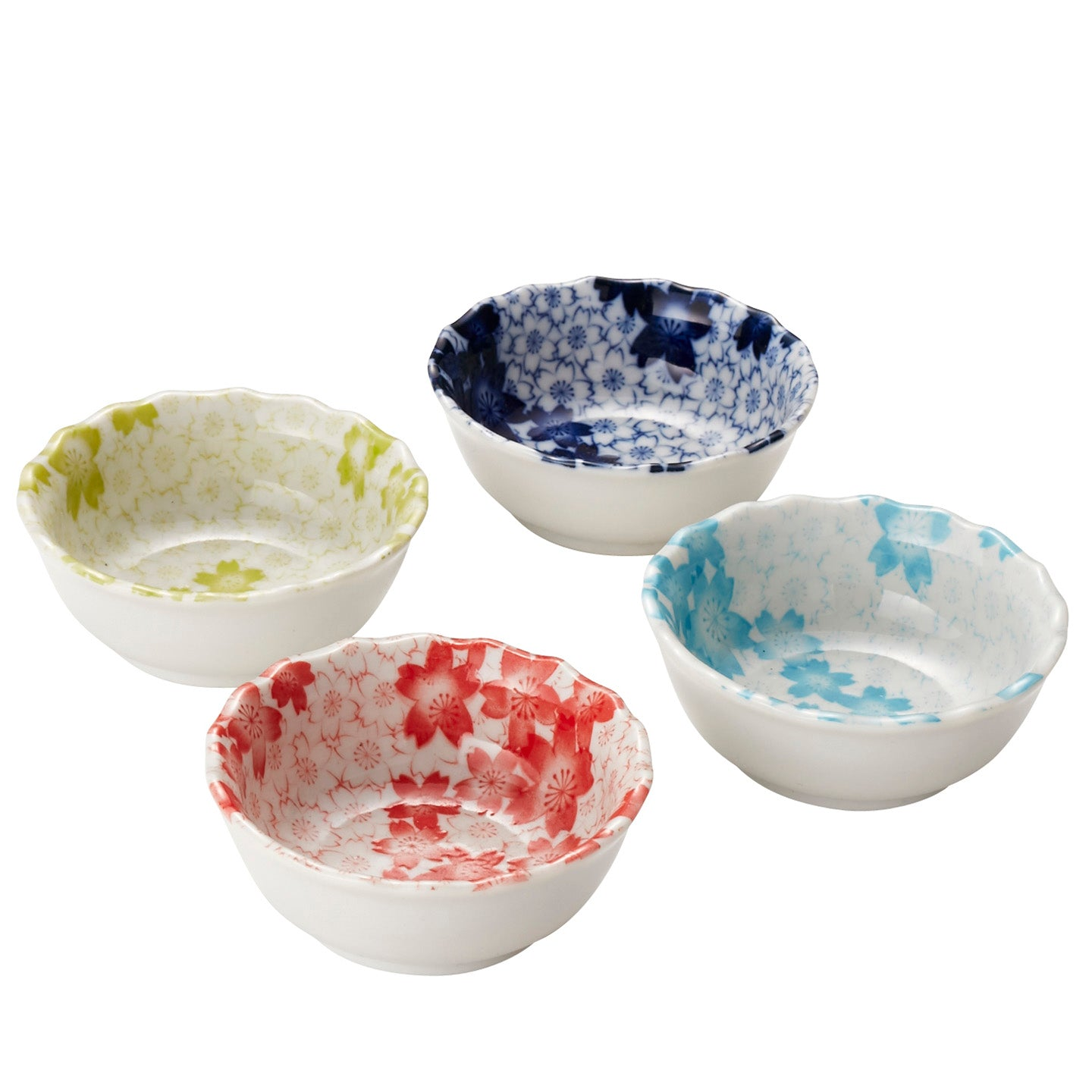 Kasumizakura Set of 4 Dishes