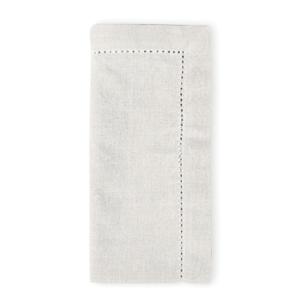 Jetty Set of 4 Oatmeal Napkins