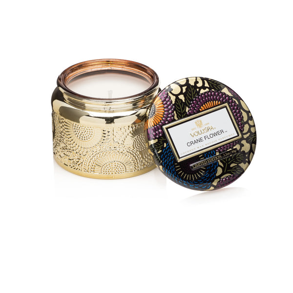 Voluspa Crane Flower Small Jar Candle