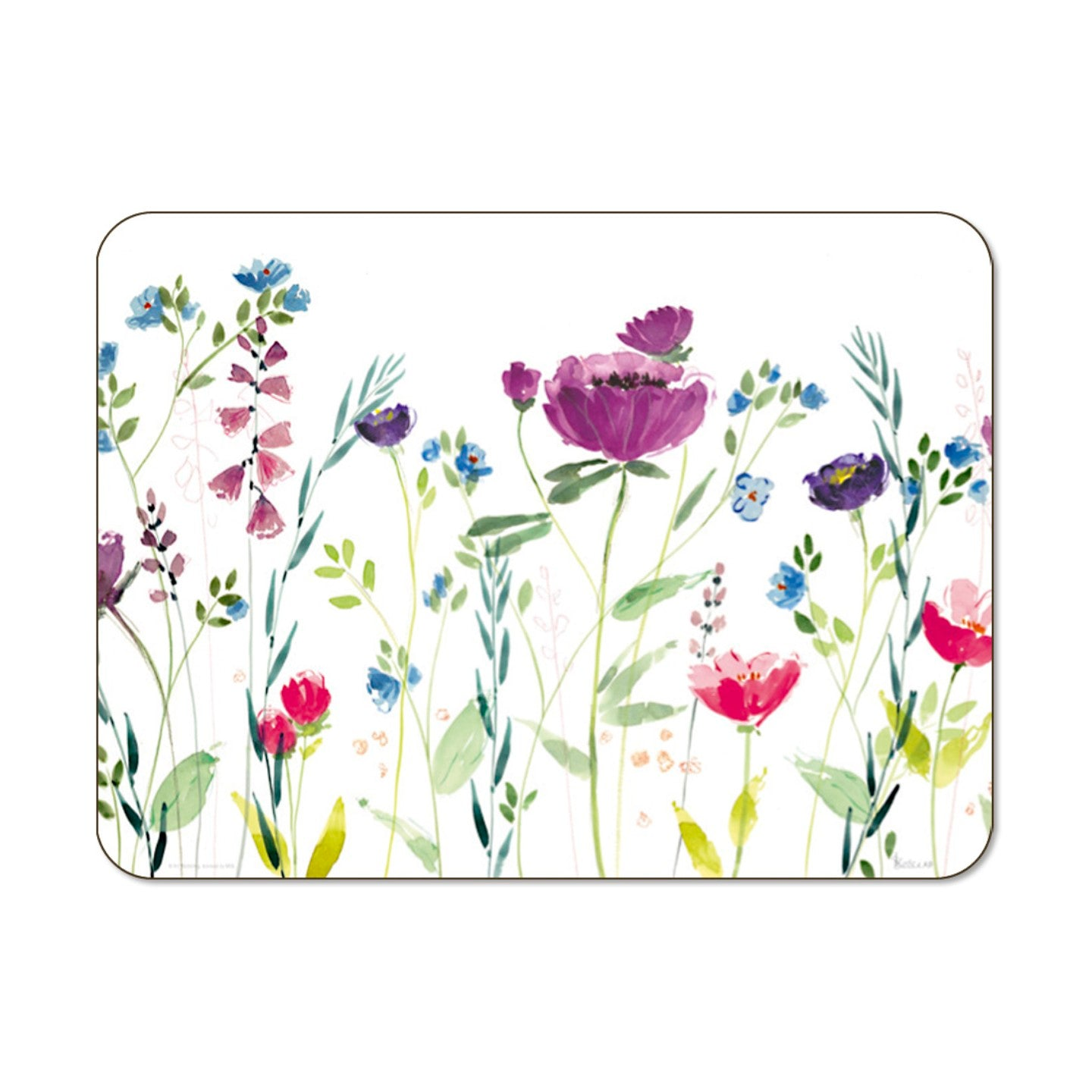 Spring Flowers Small 29cm x 21.5cm Set of 6 Placemats