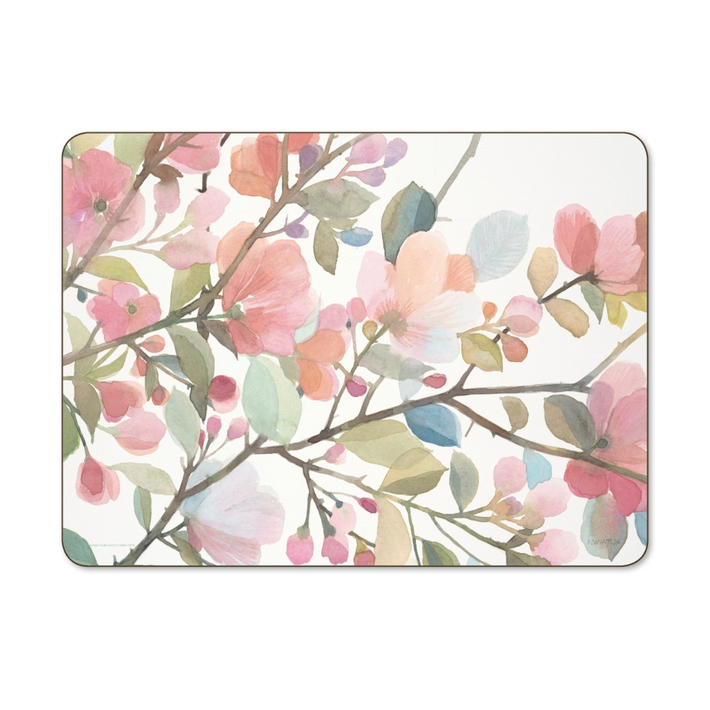 Blossom BlushSet of 6  Placemats