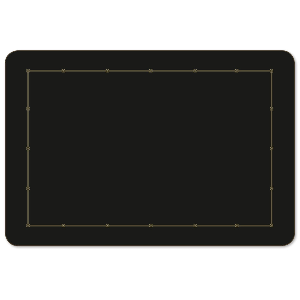 Metropole Black Large 43cm x 29cm Set of 2 Placemats