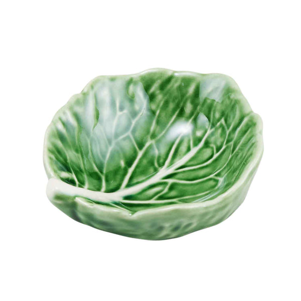 Green Cabbage 9cm Salt Bowl