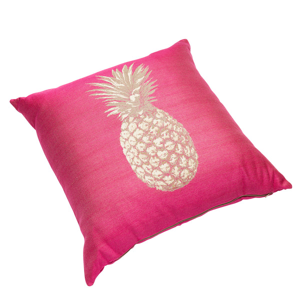 50cm Pink Pineapple Cushion